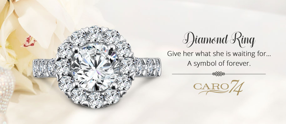 engagement ring at Quality Jewelers